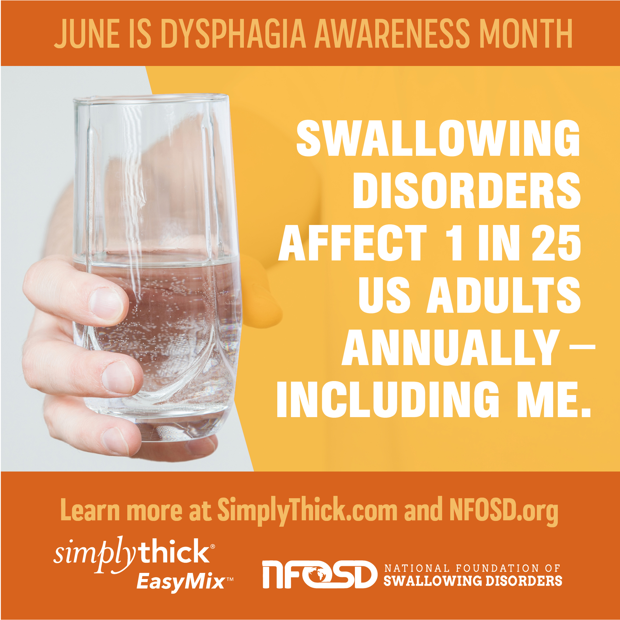 Swallowing Disorders affect 1 in 25 US adults